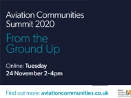 Aviation Communities 2020 poster