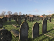 Image of a Hounslow cemetery.