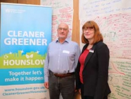 Image of Councillor Katherine Dunne at the Climate Change conference