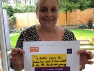 Picture of a foster carer, Debbie Williams