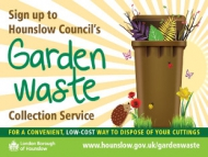 Image of the Garden Waste service poster.