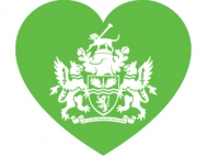 Grenfell heart with Council logo