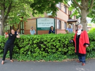 Mayor of Hounslow at Atfield House Care home