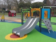Image of a playground in a park
