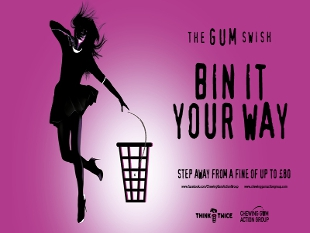 Bin it your way! Hounslow gets on board with anti gum litter campaign!