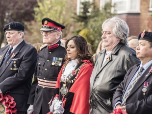 Hounslow Remembers: Mayor attends Services of Remembrance