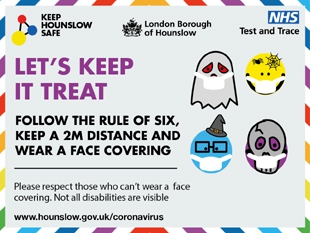 This Halloween, Hounslow Council is making it easier for residents to say 'no thank you'