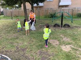 nursery litter pick