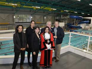 We were all really impressed with the improvement works made to the pools